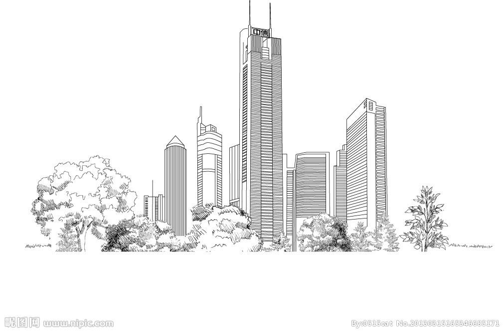 2008年广州城市手绘